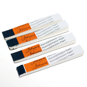 Plain Test Strip Books x4